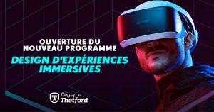 Design expériences immersives