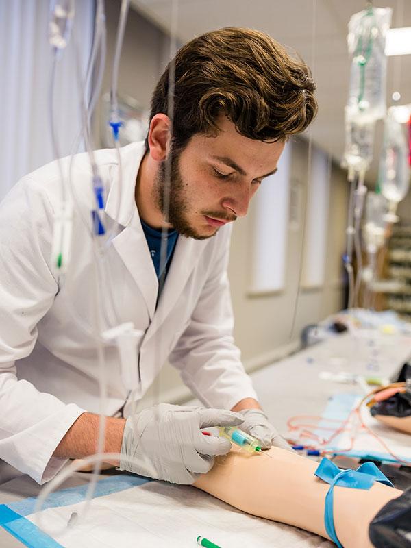 Étudiant en Soins infirmiers