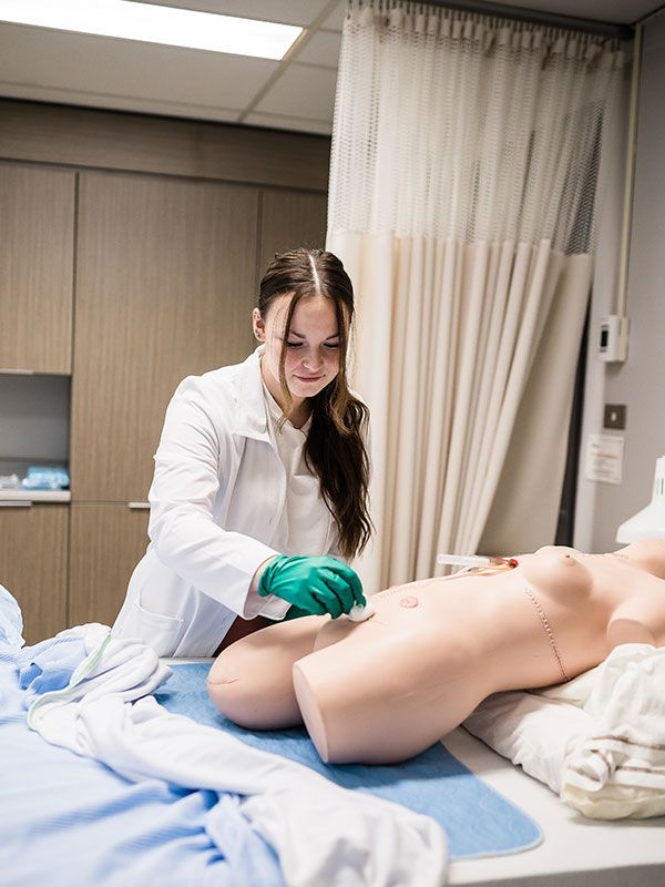 Étudiante Soins infirmiers