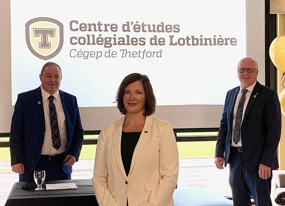 Le Campus de Lotbinière devient le Centre d'études collégiales de Lotbinière