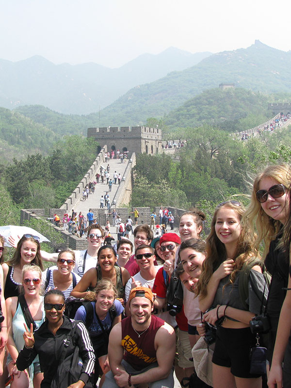 Sciences humaines voyage Chine
