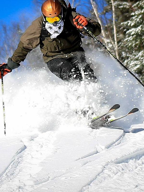 Ville de Thetford ski
