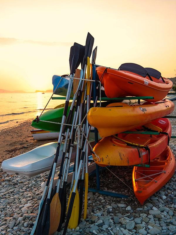 Ville de Thetford kayak