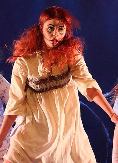 Danseuse à l'événement Cégep en spectacle